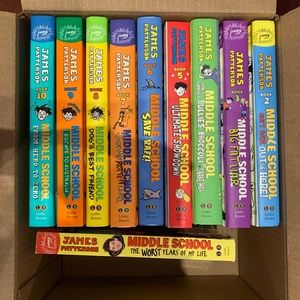 Books 1-10 Middle School Series